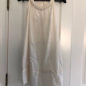 CALYPSO 100% silk white coverup